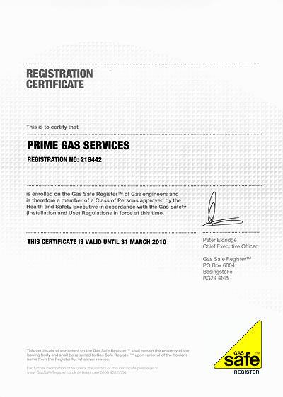 Gas Safe Engineer