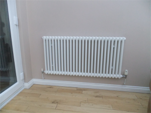 installation of new radiators
