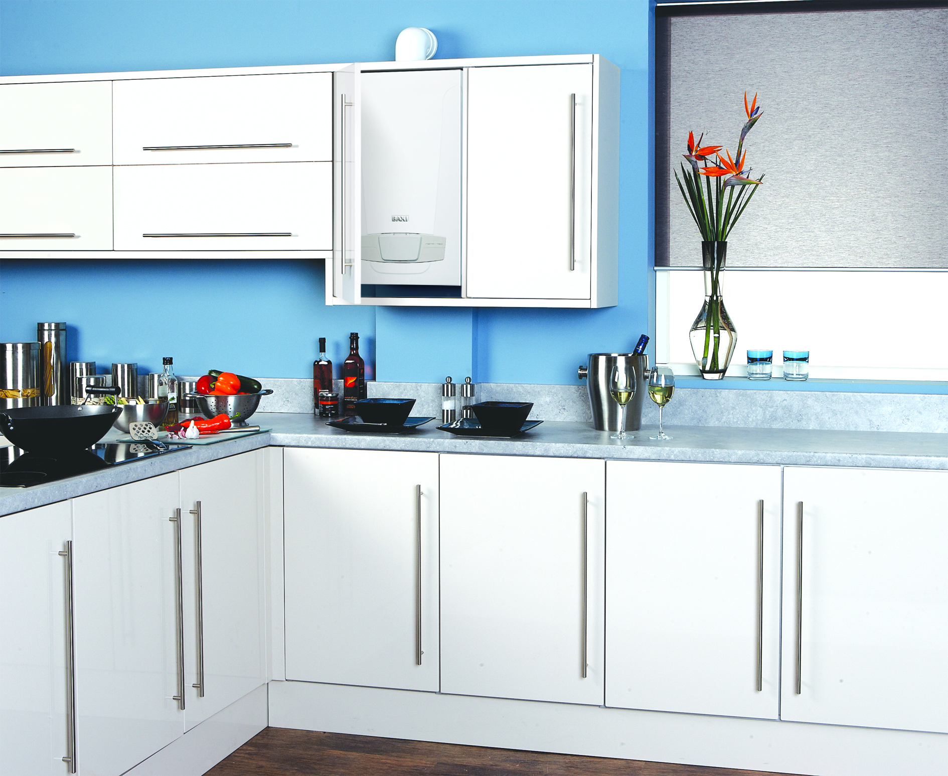 Upgrade your boiler for Kitchen boiler cupboard